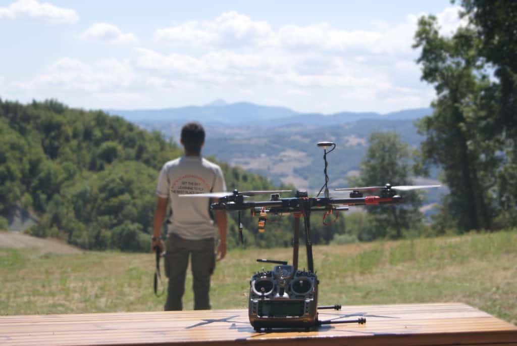droni scuola di volo