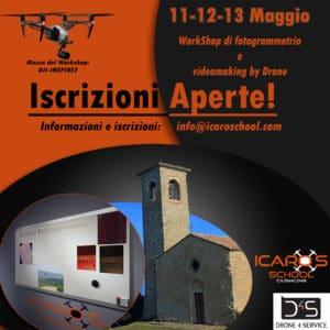 Corso di fotogrammetria con drone