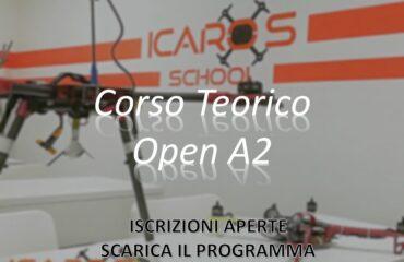 CORSO Teorico Open A2 Giovedì 20 Maggio 2021