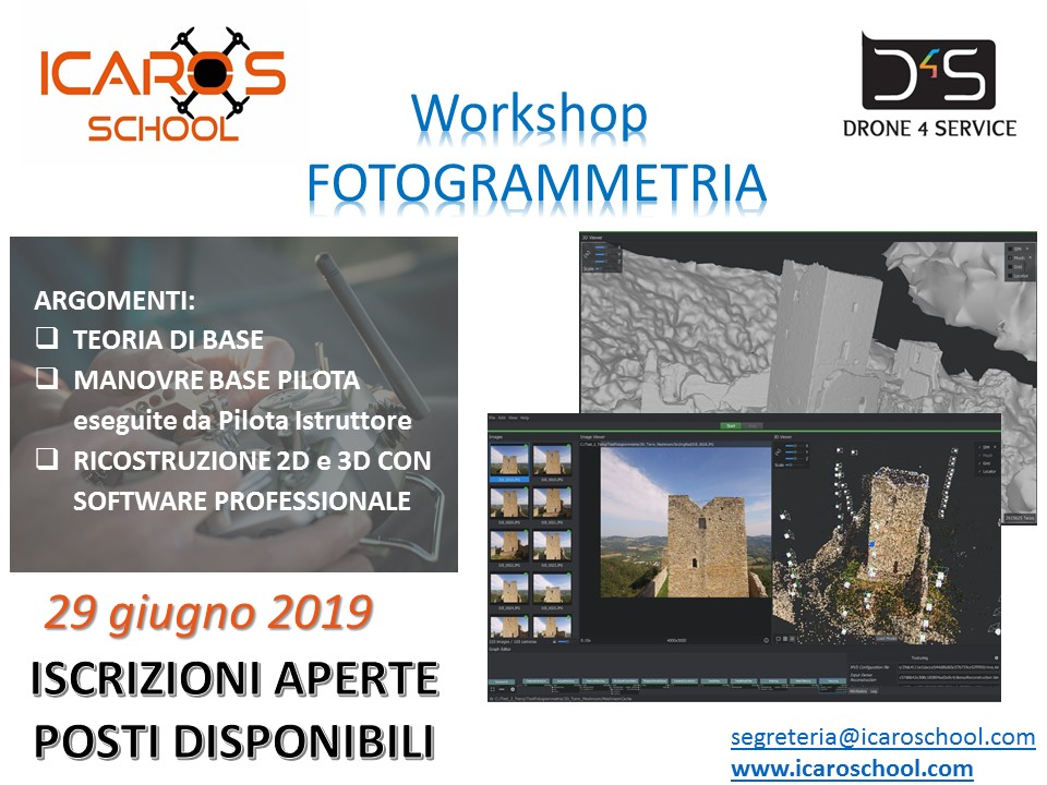 workshop Fotogrammetria