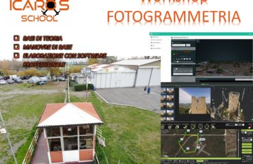 Workshop Professionale Fotogrammetria da DRONE